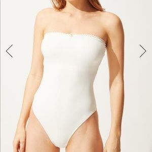 New Solid and Striped Madeline one piece swimsuit